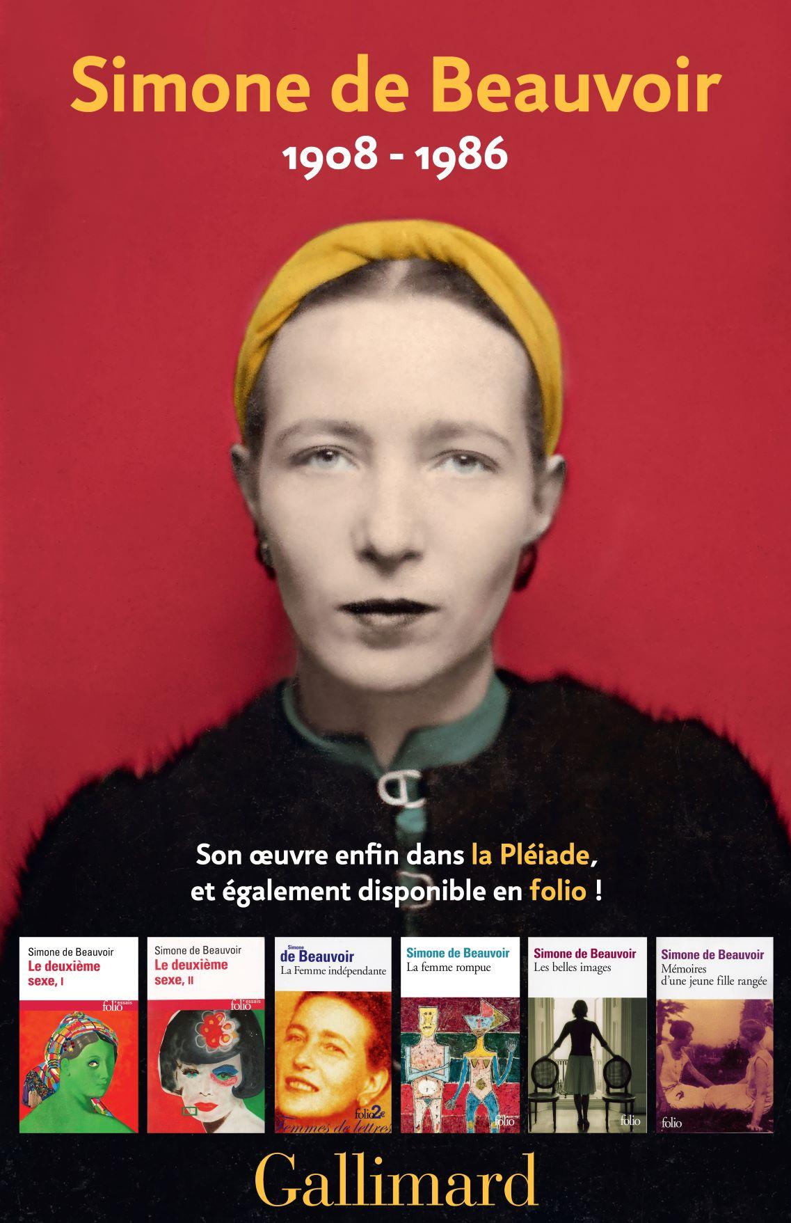 Simone de Beauvoir entre dans la Pléiade